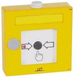 Przycisk START gaszenia - żółty - 2878094827