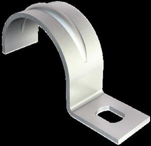 Uchwyt metalowy do rur i kabli 21mm 604 21 G 1003216 /100szt./ - 2878095080