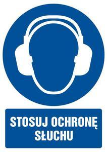 Znak: Stosuj ochronę słuchu - 2878095680