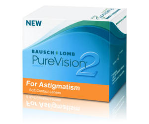 Bausch&Lomb Purevision 2 Nigh & Day TORIC - 6 sztuk
