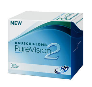 Bausch&Lomb Purevision 2 HD Nigh & Day - 6 sztuk w blistrach - 2829383269