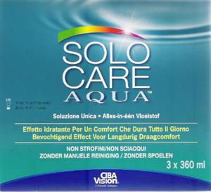 Solo-Care Aqua - 3 x 360ml - 2829383278