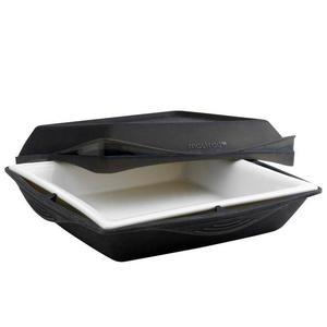 Naczynie do zapiekania z silikonu i porcelany czarne Mastrad - 2860454893