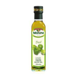 Oliwa z oliwek Extra Vergine AROMATYZOWANA bazylia 250ml Monini - 2834923243
