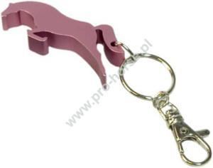 Breloczek HR z otwieraczem skoczek różowy - 2878091078