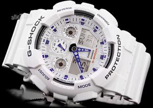 Casio G-SHOCK FALCON GA-100A-7A 20 BAR+ PUDEŁKO - 2470609710