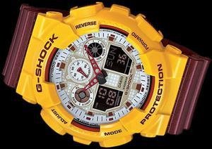 Casio G-SHOCK FALCON  GA100CS-9A 20 BAR+ PUDEŁKO - 2470609937