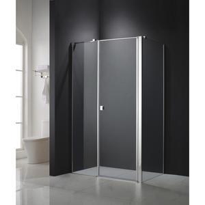 Askopol Bergo Plus kabina prysznicowa kwadratowa lewa 90x90x195 cm z powłoką Askoclean - 2880650782